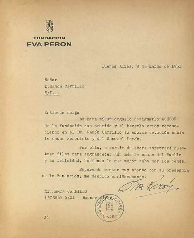 DOCUMENTO DR. RAMON CARRILLO